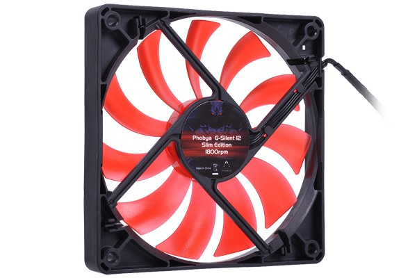 Phobya G-Silent 12 Slim Edition 1800rpm ( 120x120x15mm )