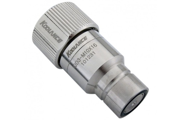 """Koolance quick release connector 16/10mm (ID 3/8"""" OD 5/8"""") male (High Flow) - QD3"""