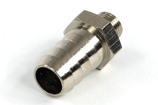 "12mm (1/2"") barbed fitting G1/8 with O-Ring"