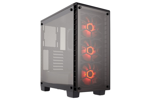 Corsair Crystal 460X RGB window - schwarz