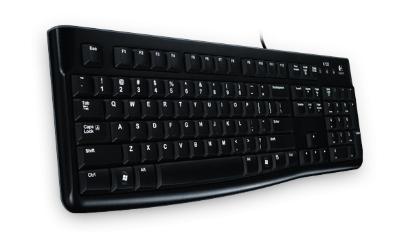 Logitech Keyboard K120 - OEM (German Layout)