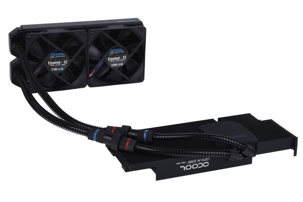 B-Ware Alphacool Eiswolf 240 GPX Pro Nvidia Geforce RTX 2080 - Black M04