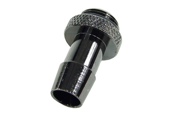"10mm (3/8"") fitting G1/4 with O-Ring (High-Flow) - Short - black nickel"