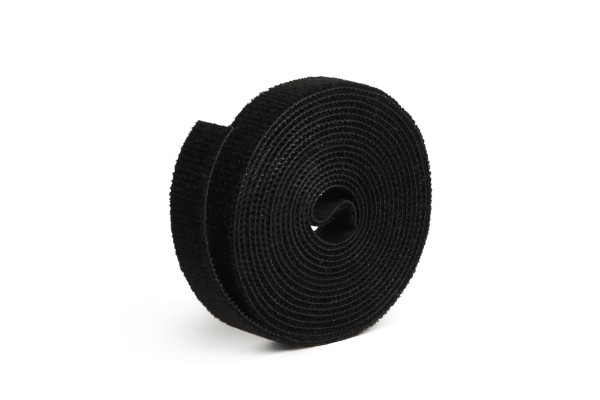 Label The Cable LTC 1210 Hook and Loop Tape LTC ROLL STRAP, 9.8 ft, black