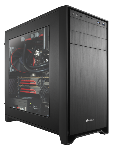 Corsair Obsidian 350D window - schwarz