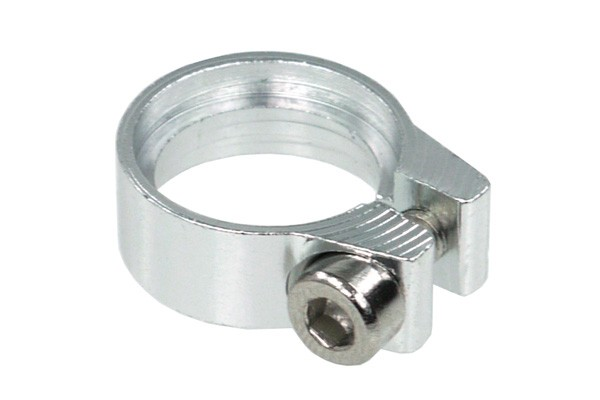 Hose clamp hexagonal key 10 - 11.2mm silver