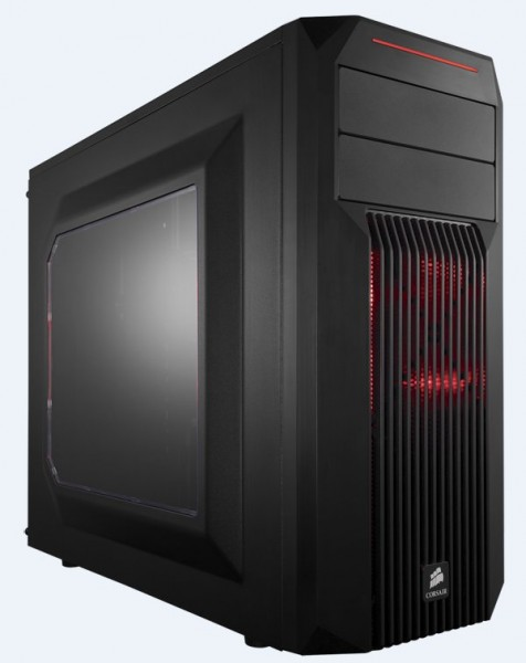 Corsair SPEC-02 Red LED - schwarz