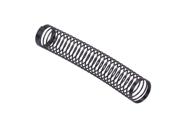 Anti-kinking spring individual 16mm (100mm length) - matte black