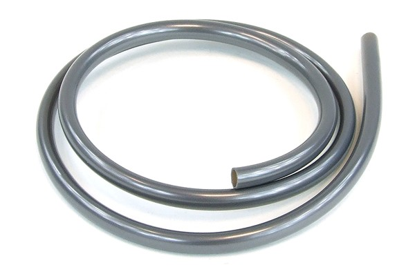 """tubing PUR 10/8mm (5/16""""ID) UV-active silver"""