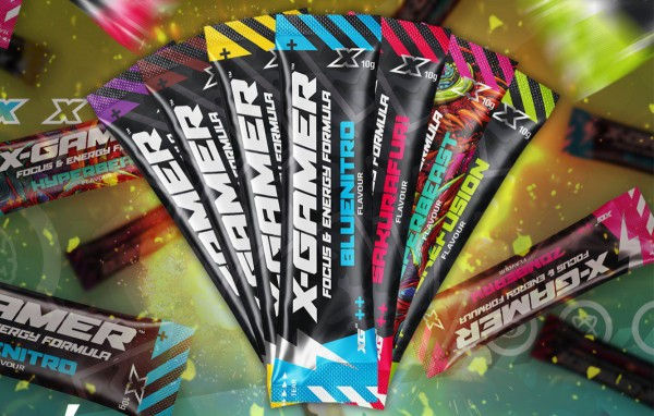 X-Gamer Free Shotz 10g Mix Black Week