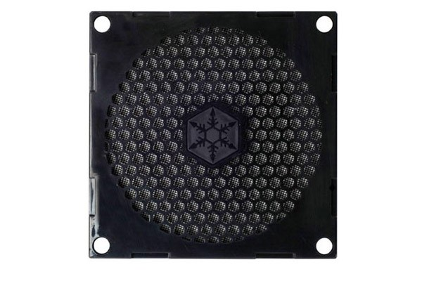 LZ Silverstone fan grill and filter kit SST-FF81B 80mm