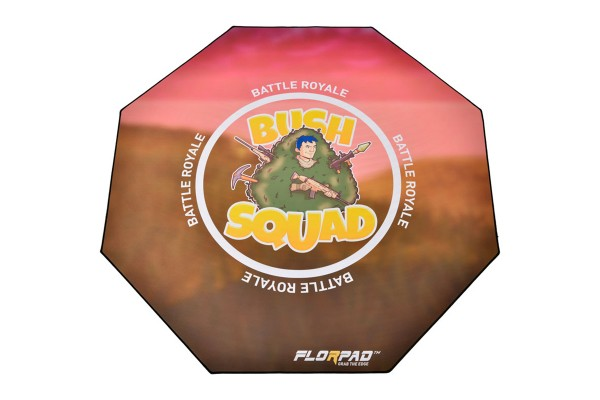 Florpad Battle Royale Gamer-/eSports floor protection mat - soft, Special