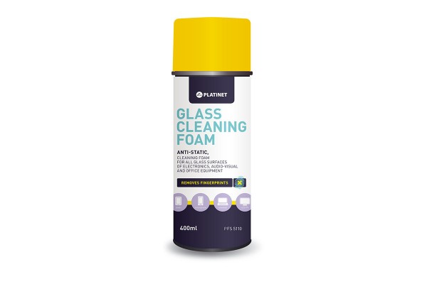 Platinet Glass Cleaning Foam 400ml