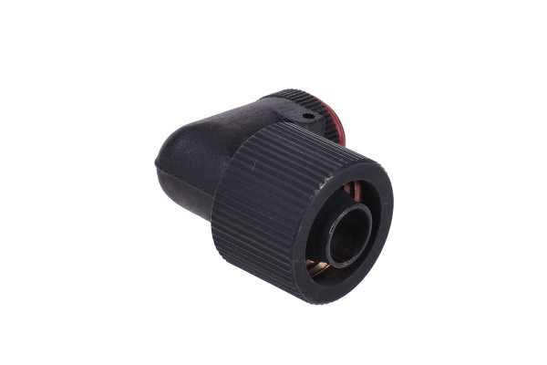 16/10mm compression fitting 90° revolvable G1/4 - compact - matte black