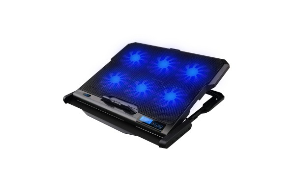 OMEGA Gaming Laptop Silent Cooler with 6x Fans