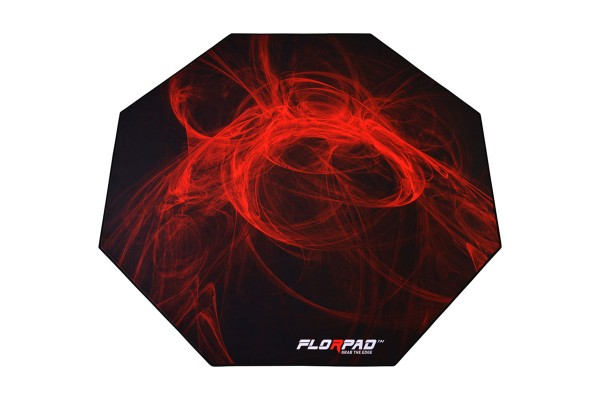 Florpad Fury Gamer-/eSports floor protection mat - red, soft, Core