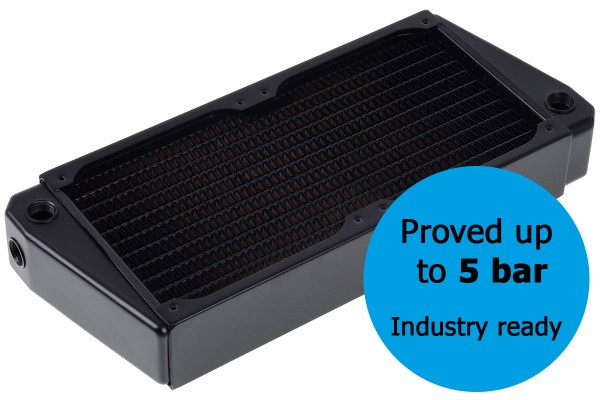 Alphacool NexXxos XT45 Industry HPC Series X-Flow 240mm radiator
