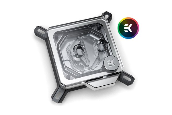 EK Water Blocks EK-Velocity Intel RGB CPU water block - Nickel + acrylic