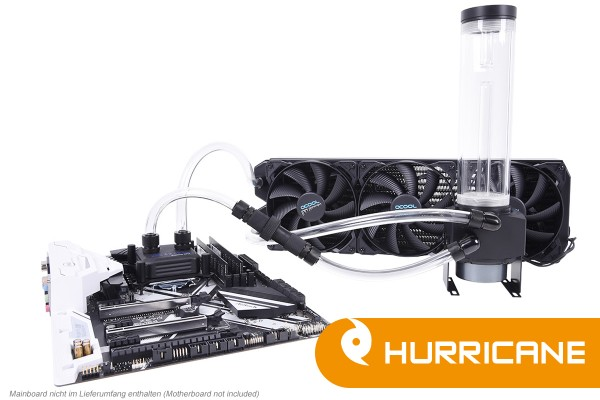 Alphacool Eissturm Hurricane Copper 45 3x140mm - complete kit