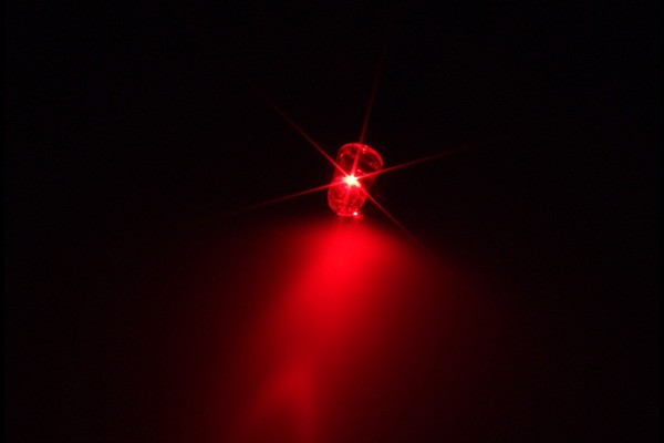 Alphacool LEDready 5mm ultra-bright red including G1/4 lighting module