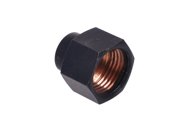 Reducing bushing G1/2 to G1/4 inner thread - matte black