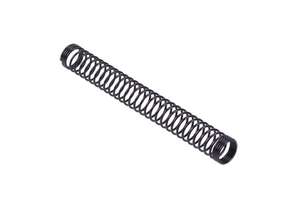 Anti-kinking spring individual 10mm (100mm length) - matte black