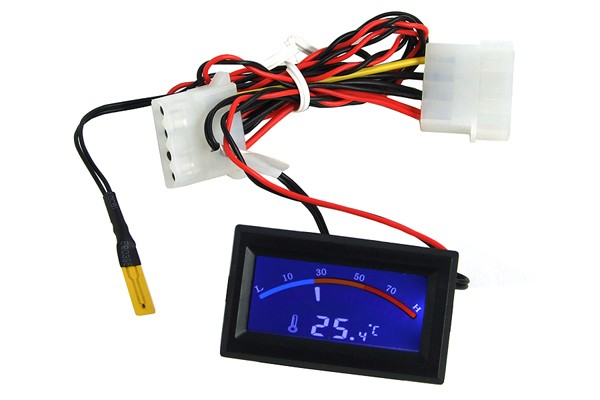 Thermometer with digital display - C/F Display