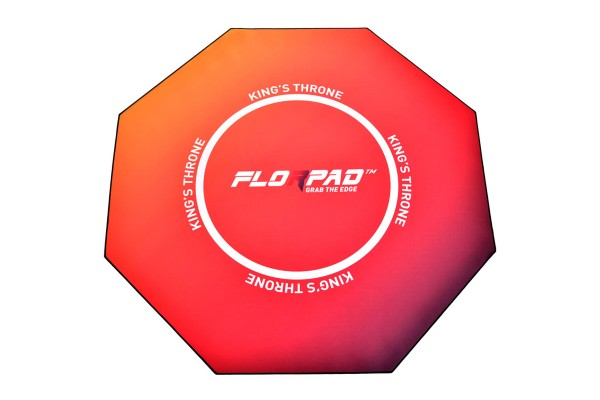 Florpad Kings Throne Gamer-/eSports floor protection mat - pink, soft, Core