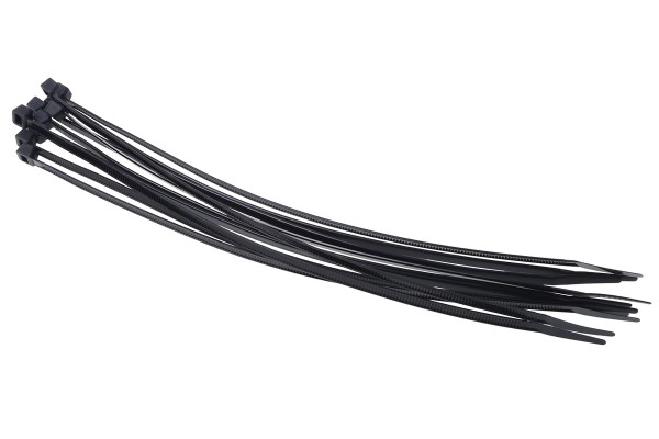Phobya Zip tie black 4,8x250mm 10 pcs
