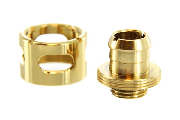 "Monsoon 19/13mm (ID 1/2"" OD 3/4"") compression fitting - Gold"