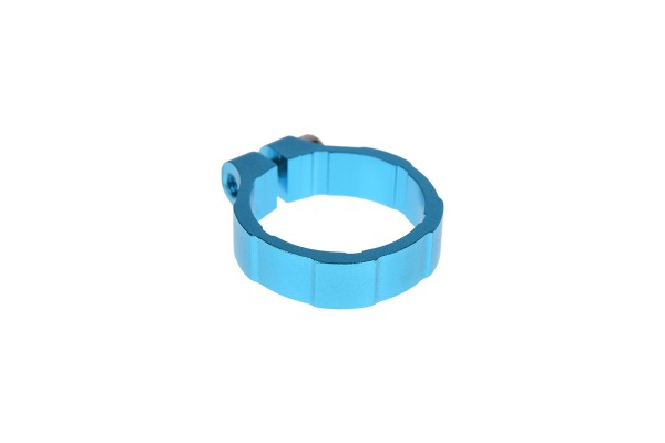 "Lamptron hexagonal hose clamp 19mm (3/4"") - Deep Blue"