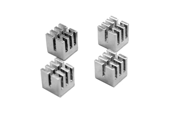 ModMyToys GPU RAM Kupfer Heatsinks 8x8mm - silver 4 pieces
