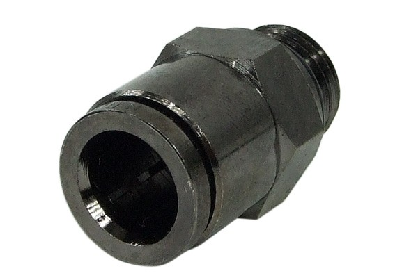 10mm G1/4 plug fitting - black nickel