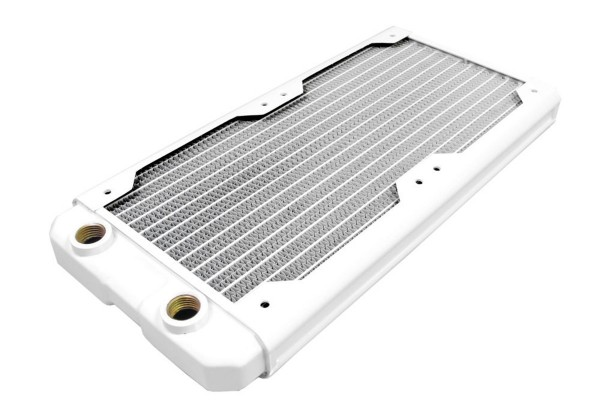 Black Ice Nemesis radiator GTS 240 - satin white