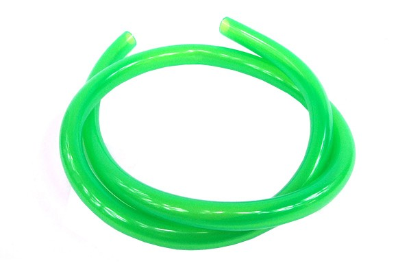 "Masterkleer tubing PVC 15,9/11,1mm (7/16""ID) UV-active green"