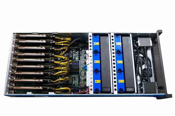 Supercomputer Rendermaster 400 Alphacool Workstation GPU Water cooling
