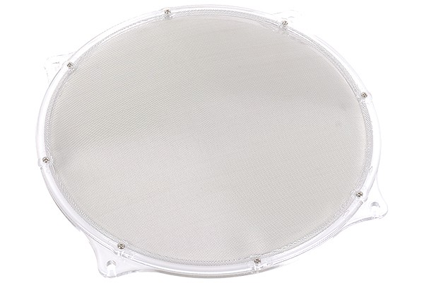 fan filter Mesh 200mm frame transparent