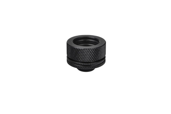 Thermaltake Pacific HardTube compression fitting 16mm OD to G1/4 - black
