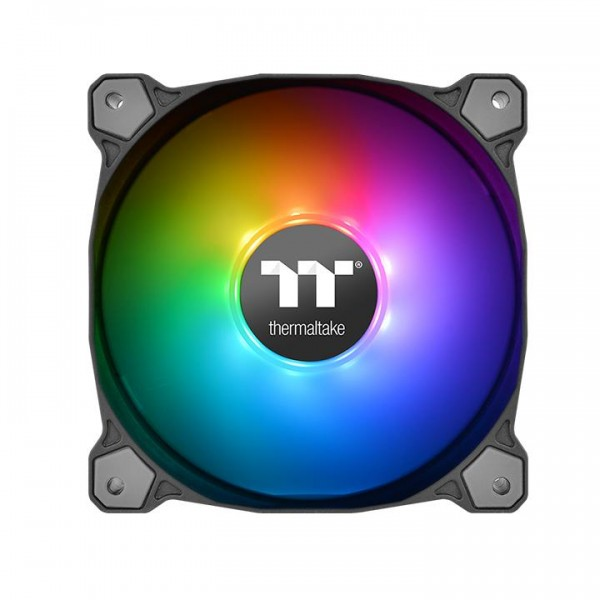 Thermaltake Pure Plus 12 LED RGB TT Premium Edition 3er Pack (120x120x25mm)