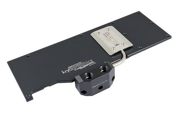 Aquacomputer Back plate for kryographics GTX 980, active XCS