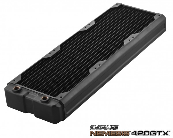 Black Ice Nemesis radiator GTX 420 - black