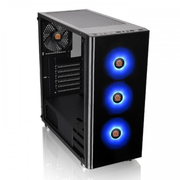 Thermaltake V200 TG RGB Midi-Tower black - with window