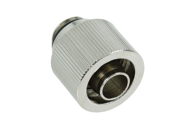 16/10mm compression fitting G1/4 - compact – silver nickel