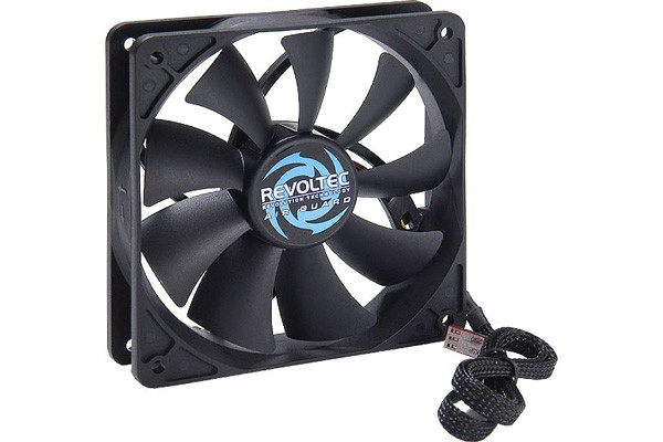"Revoltec fan ""AirGuard"" PWM ( 120x120x25mm )"