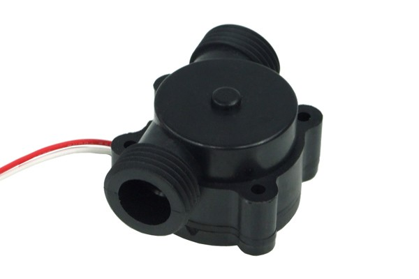 "Flow sensor GMR Acetal incl. electronics G1/2"" outer thread - Highflow"