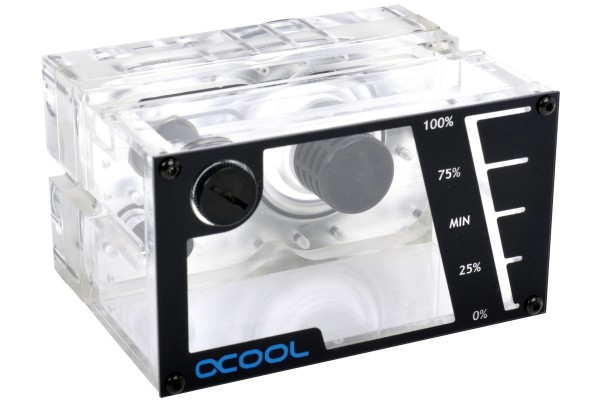 Alphacool Repack - Single Laing D5 - Dual 5,25 Bay Station