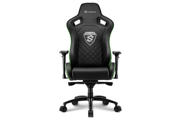 Sharkoon Skiller SGS4 gaming chair - black/green