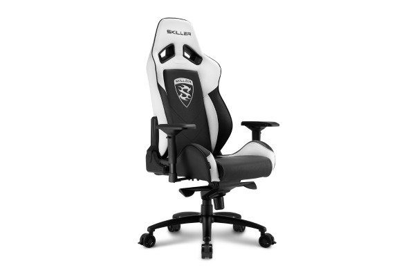 Sharkoon Skiller SGS3 Gamingstuhl - black/white