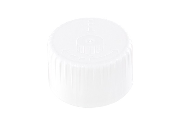 Seal DIN 28 PE softline white childproof 2 pieces