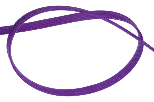 "Phobya Flex Sleeve 13mm (1/2"") UV purple 1m"